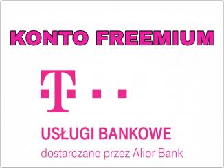 KONTO FREEMIUM T-MOBILE USŁUGI BANKOWE