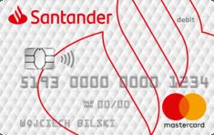 Karta Dopasowana MasterCard - Konto Jakie Chcę - Santander Bank